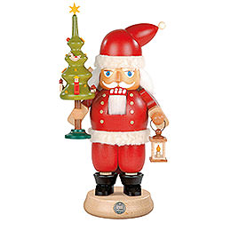 Nutcracker  -  Santa Claus with Tree  -  23cm / 9 inch