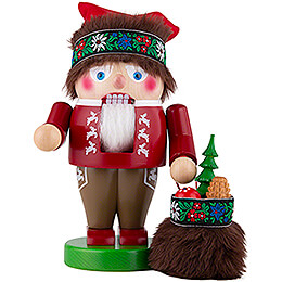 Nutcracker  -  Troll Bavarian Santa  -  27cm / 10.6 inch