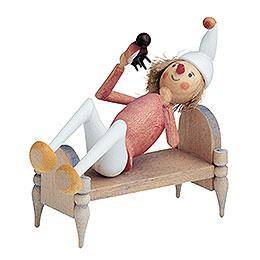 Onkel Fritz in Bed  -  7cm / 3 inch