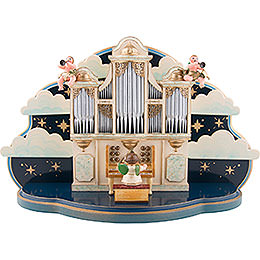 Organ for Hubrig Angel Orchestra with Music Box  -  36x13x21cm / 14x5x8 inch