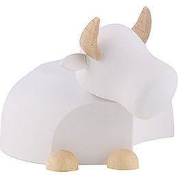Ox  -  Modern White/Natural  -  Large  -  6cm / 2.4 inch
