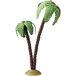 Palm Tree, Double  -  16cm / 6.3 inch