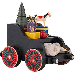 Presents Wagon for Railroad  -  19x17x13cm/7.4x6.7x5.1 inch