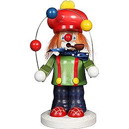 Räuchermännchen Clown  -  19,5cm