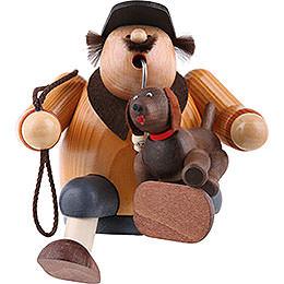 Räuchermännchen Hundefreund  -  Kantenhocker  -  16cm