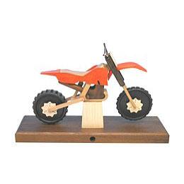 Räuchermotorrad Cross 27x18x8cm