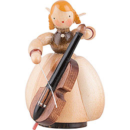 Schaarschmidt Angel with Cello  -  4cm / 1.6 inch