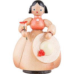 Schaarschmidt Hut - Dame mit Blume  -  4cm