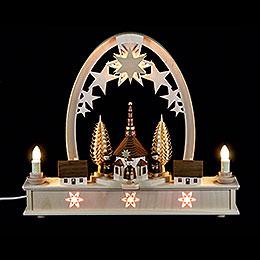 Seidel Arch Carol Singers  -  36x31cm / 14x12 inch