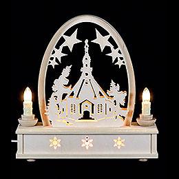 Seidel Arch Seiffen Church  -  25cm / 10 inch