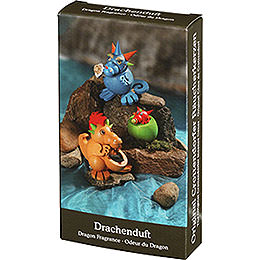 Seiffener Volkskunst Incense Cones  -  Dragon Fragrance
