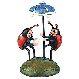 Set of Two -  Ladybug Duet  -  4,5cm / 1,75 inch