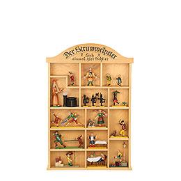 Setzkasten für Struwwelpeterfiguren  -  40x59cm