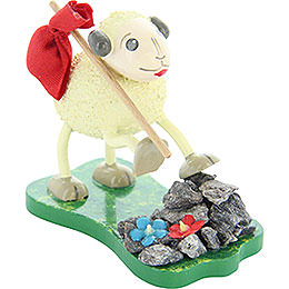"Sheep ""Alpi"", Hiking  -  6cm / 2.4 inch"