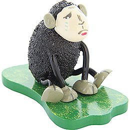 "Sheep ""Depri"", Crying, Black  -  5cm / 2 inch"