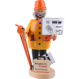 Smoker  -  Construction Manager  -  22cm / 8.7 inch
