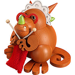 Smoker  -  Dragon Grandmother  -  Ball Figure  -  10cm / 3.9 inch