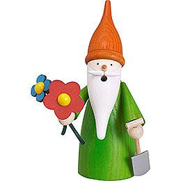 Smoker  -  Garden Gnome  -  16cm / 6 inch