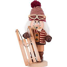 Smoker  -  Gnome Bobsleigh Rider  -  31cm / 12 inch