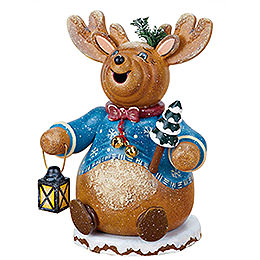 Smoker  -  Gnome Rudolph Reindeer 14cm / 5 inch