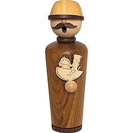 Smoker  -  Masterpiece  -  Woodcraftsman  -  17cm / 6.7 inch