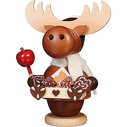 Smoker  -  Moose Gingerbread Salesman  -  13,5cm / 5.3 inch