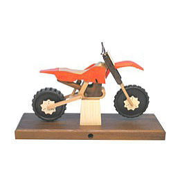 Smoker  -  Motorcycle Cross 27x18x8cm / 11x7x3 inch