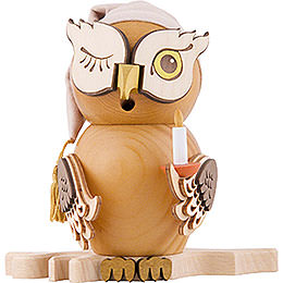 Smoker  -  Owl Sleepy Head  -  15cm / 5.9 inch