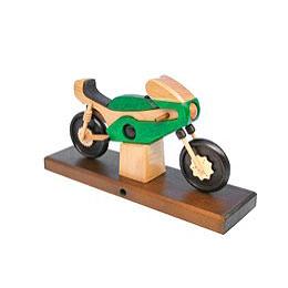 Smoker  -  Racing Motorbike Green 27x18x8cm / 11x7x3 inch