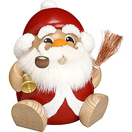 Smoker  -  Santa Claus  -  Ball Figure  -  18cm / 7 inch