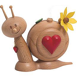 Smoker  -  Snail Sunny Heart Snail  -  16cm / 6.3 inch