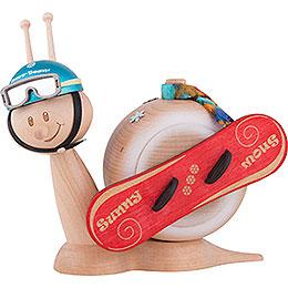 Smoker  -  Snail Sunny Snowboard Snail  -  116cm / 6.3 inch