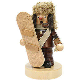 Smoker  -  Snowboarder Natural Colors  -  18,5cm / 7 inch