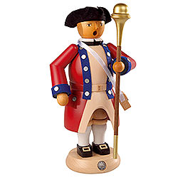 Smoker  -  Tambourmajor  -  Virginia State Garrison Regiment  -  24cm / 9 inch