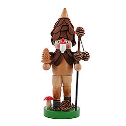 Smoker  -  The Pine - Cone - Man  -  25cm / 10 inch