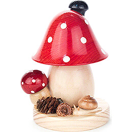 Smoker  -  Toadstool  -  12cm / 4.7 inch