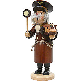 Smoker  -  Train Conductor Natural Colors  -  29cm / 11 inch