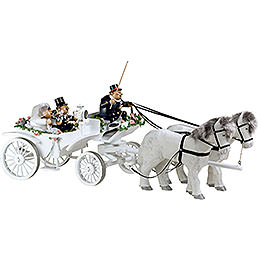 Smoker  -  Wedding Horse & Carriage  -  Edge Stool