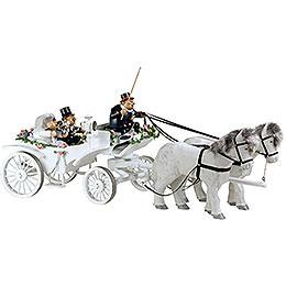 Smoker  -  Wedding Horse & Carriage  -  Edge Stool