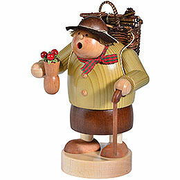 Smoker  -  Woodwoman  -  15cm / 6 inch