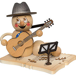 Smoker  -  Worm Guitar Player Rudi  -  14cm / 5.5 inch