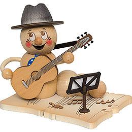 Smoker  -  Worm Guitar Player Rudi  -  14cm / 5.5 inch
