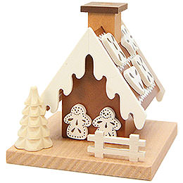Smoking Hut  -  Witch's Cottage  -  7,8cm / 3.1 inch