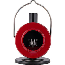 Smoking Stove Disc Oven Red/Black  -  12cm / 4.7 inch