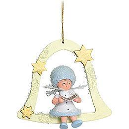 Snowflake Singer  -  7x7x4cm / 2.8x2.8x1.5 inch