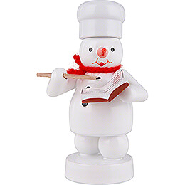 Snowman Baker with Recipe Book  -  8cm / 3.1 inch