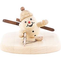 Snowman Biathlon lying  -  5cm / 2 inch