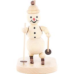 Snowman Biathlon standing  -  12cm / 4.7 inch