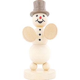 Snowman Musician Cymbals  -  12cm / 4.7 inch
