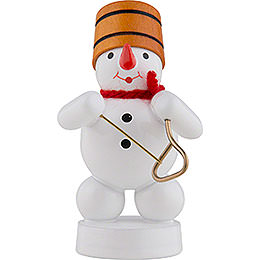 Snowman Musician with Triangle  -  8cm / 3 inch